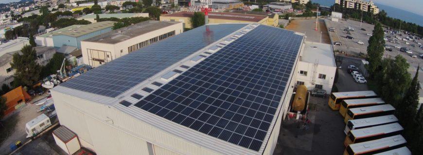 Installation photovoltaïque Glaude à Cannes La Bocca (06)