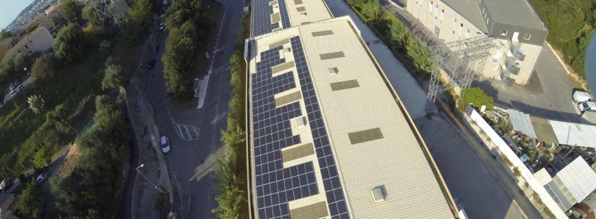Installation photovoltaïque BPR à Nice (06)