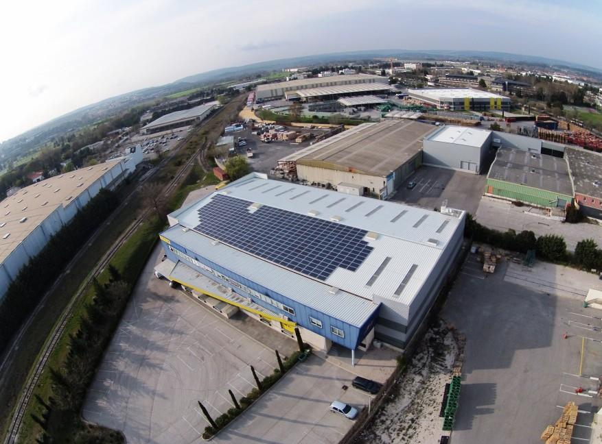 Installation photovoltaïque VPH – PA des Milles à Aix en Provence