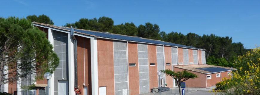 Installation photovoltaïque Gymnase David Douillet à Peymeinade (06)