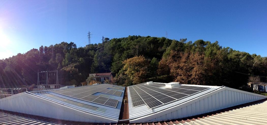 Installation photovoltaïque San Sisto à Contes (06)