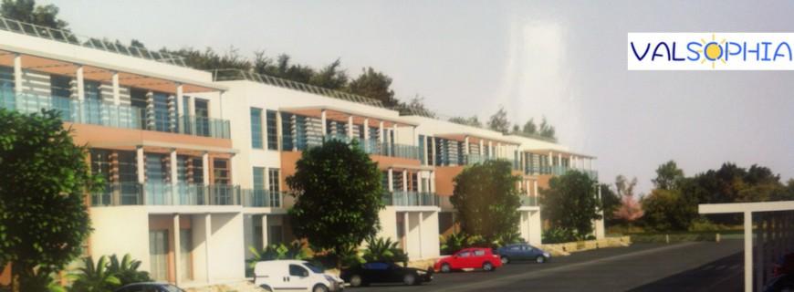 Sophia-Antipolis : des Bureaux à Energie Positive en construction