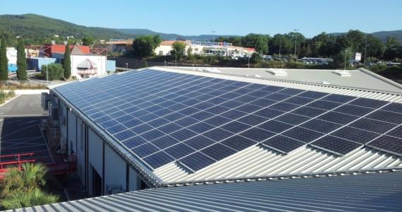 Installation photovoltaïque VALPHOTON