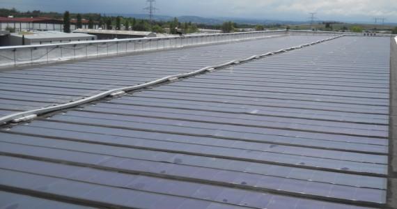 Installation photovoltaïque Préfalu, AluK à Mornant (69)