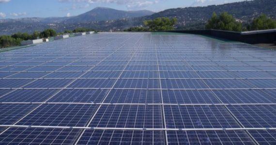 Installation photovoltaïque du Parc d'Activités de l'Argile de Mouans Sartoux