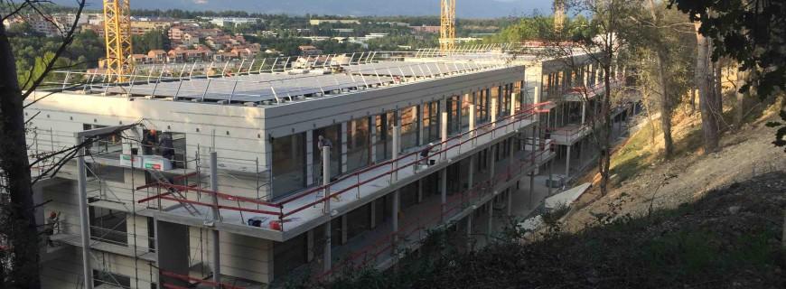 Les Aqueducs – Construction en octobre et novembre