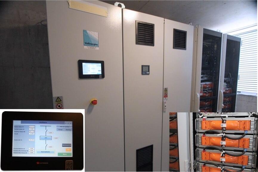 Batterie Stockage les Aqueducs Energie Positive