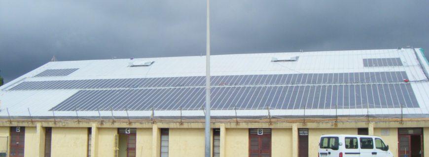 Installation photovoltaïque Gymnase Dandreis à Vence (06)
