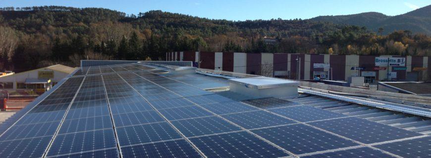 Installation photovoltaïque Apisudest à Brignoles (83)