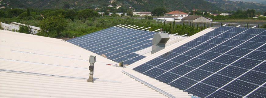 Installation photovoltaïque sur bâtiment industriel à Cannes La Bocca (06)