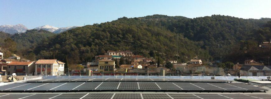 Installation photovoltaïque La Pointe à Cantaron (06)