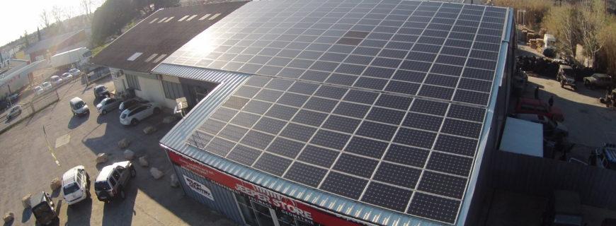 Installation photovoltaïque Jeeper Store à Lunel (34)