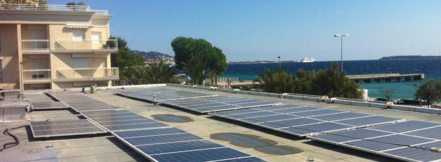 Installation photovoltaïque SICASIL à Cannes La Bocca (06)