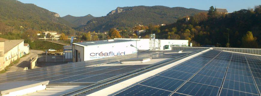 Installation photovoltaïque SCI Les Tamaris (34)
