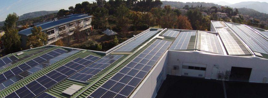Installation photovoltaïque Valargile à Mouans-Sartoux (06)