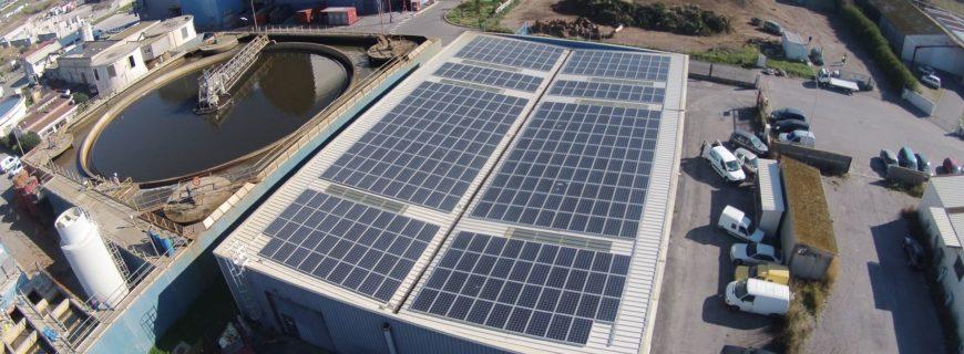 Installation photovoltaïque Ometal à Sète (34)