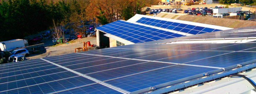 Installation photovoltaïque Petit Pont à Saint Cannat (13)