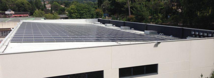 Installation photovoltaïque Vafal à Mouans-Sartoux (06)