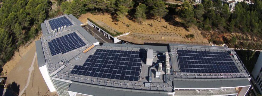 Installation photovoltaïque Bosch à Sophia-Antipolis (06)