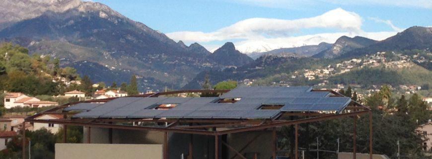 Installation photovoltaïque Park Sainte Estelle à Carros (06)